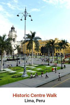 Step back in time with a truly mesmerizing insight into Lima and Peru's history when you tour the capital city's historic center.