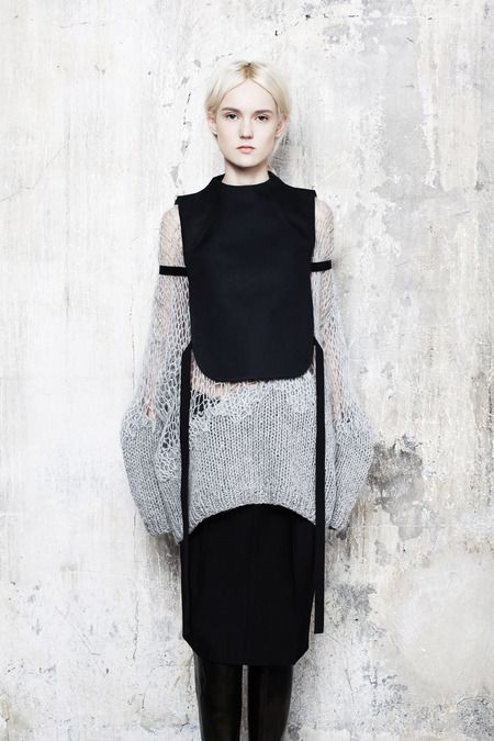 This wall texture and palette are swoon worthy. Maison Martin Margiela | Pre-Fall 2014 Collection | Style.com
