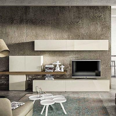 Beautiful, elegant 'Desert' TV Unit. Minimalist, elegant unit for the living room. My Italian Living.