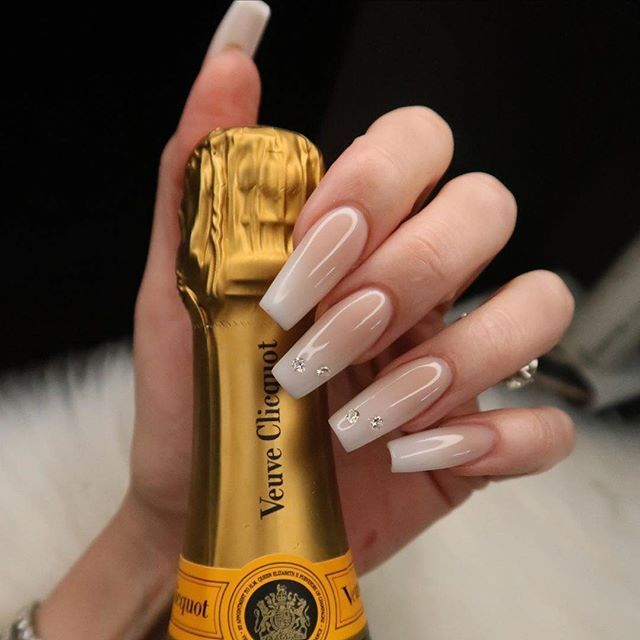 Diamonds And Champagne Tammy Taylor Nails Sculptured Nails Tammy Taylor