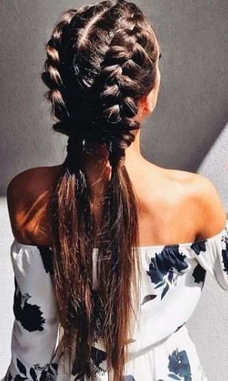 This hairstyle will be everywhere this spring and festival season. Here are the perfect braids for Coachella