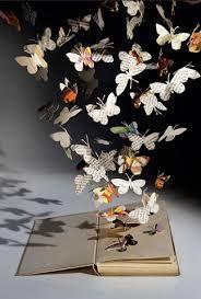 libro abierto con mariposas saliendo - Buscar con Google