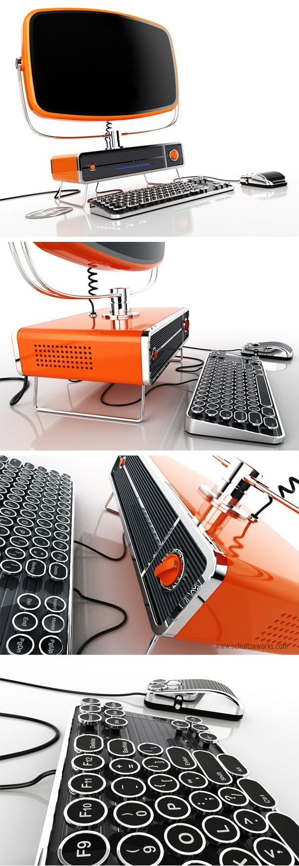 I'm an Apple girl, but if I were to get a PC... The Philco PC Concept - SchultzeWORKS designstudio