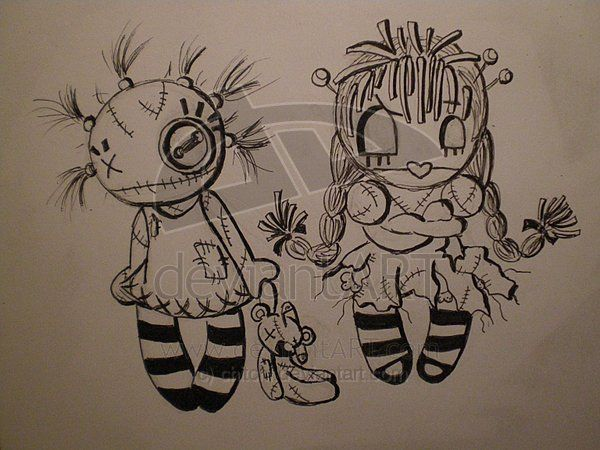 Rag dolls. by chitchi