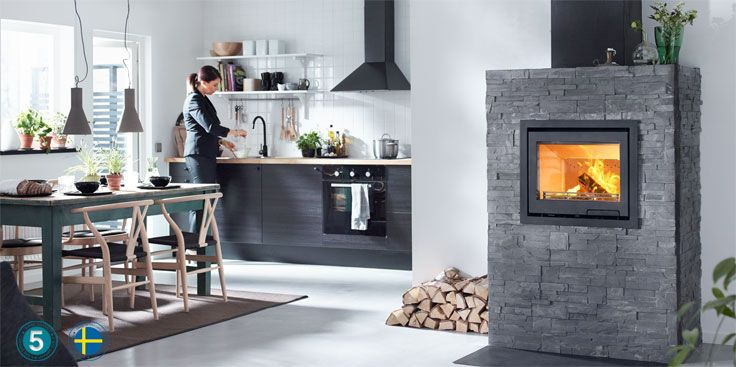 Contura i6 is our new insert which is ideal for those who have their own ideas and want to design their own fireplace.