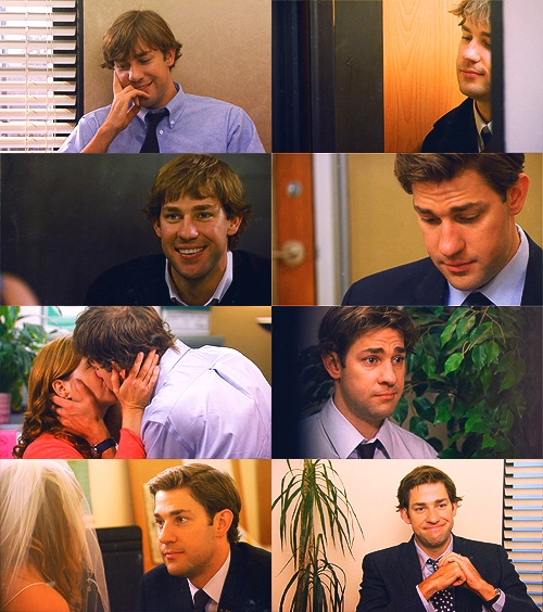 The handsome John Krasinski as Jim Halpert