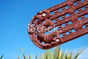 stock-photo-17626743-maori-carving-harakeke-sky