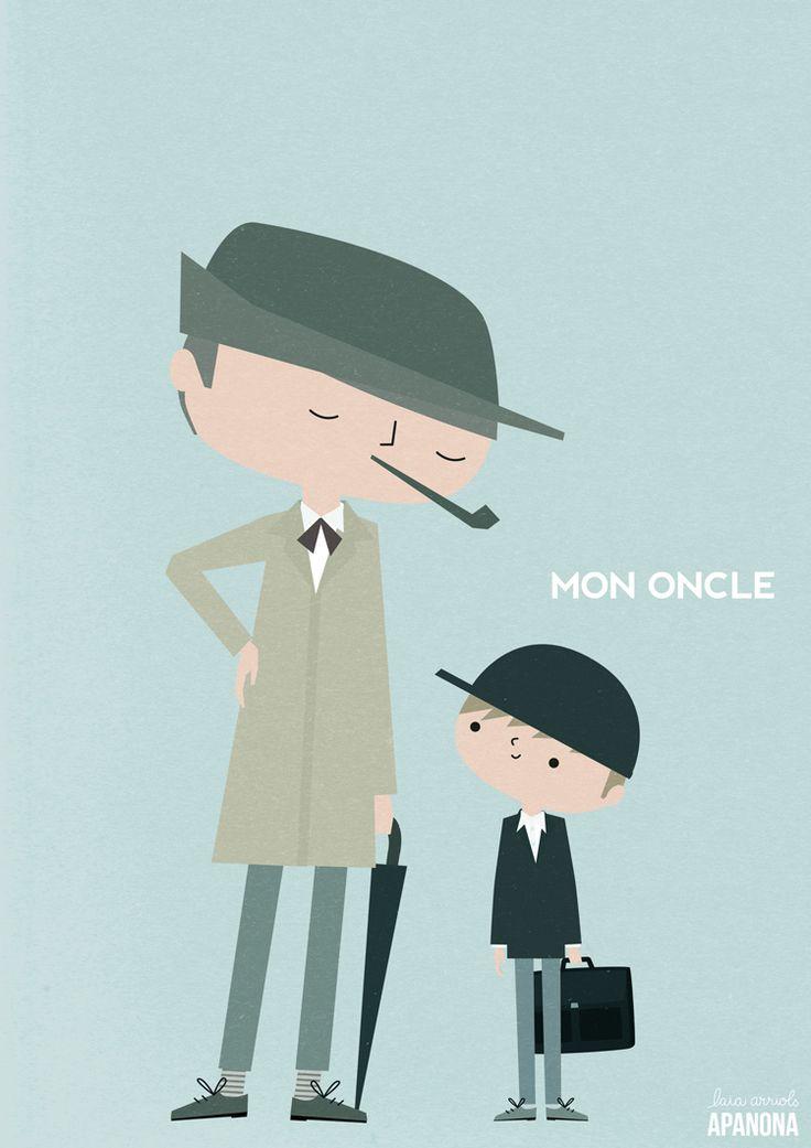 Mon Oncle by Apanona  APANONABLOG