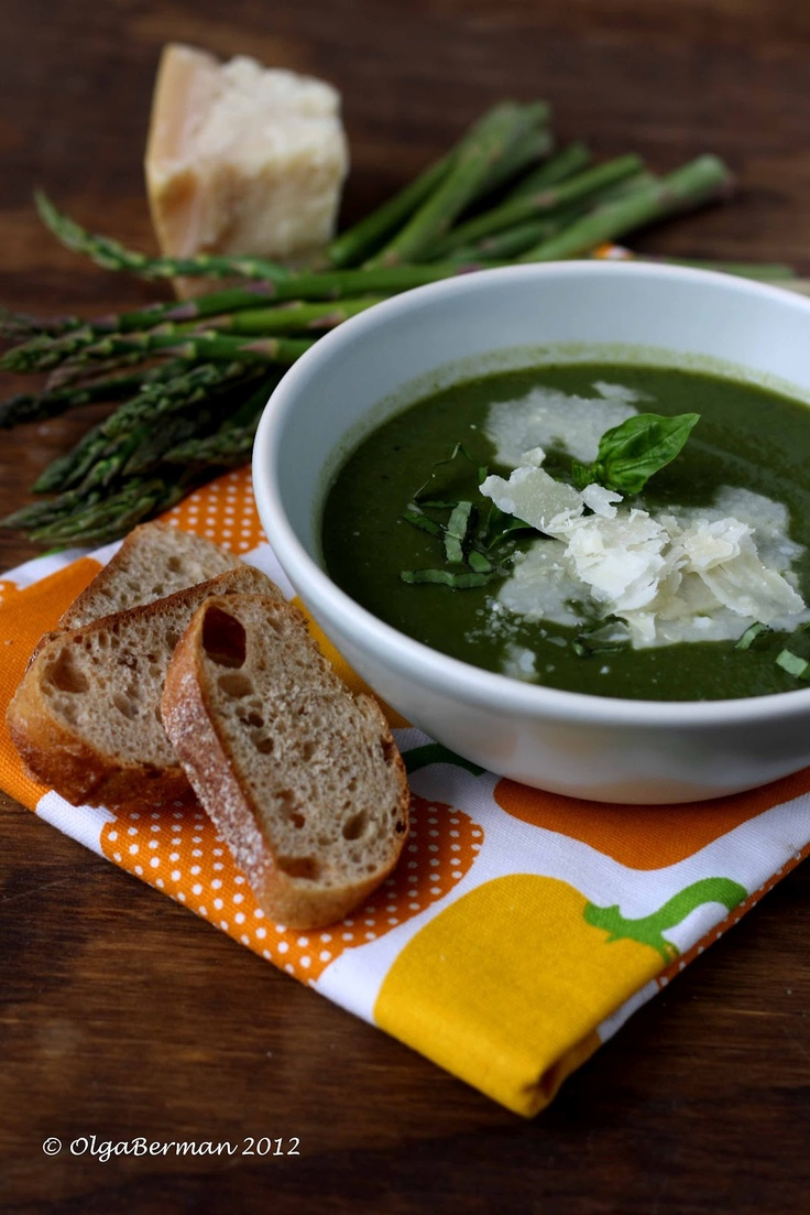 mango amp tomato cream of asparagus amp spinach soup recipe