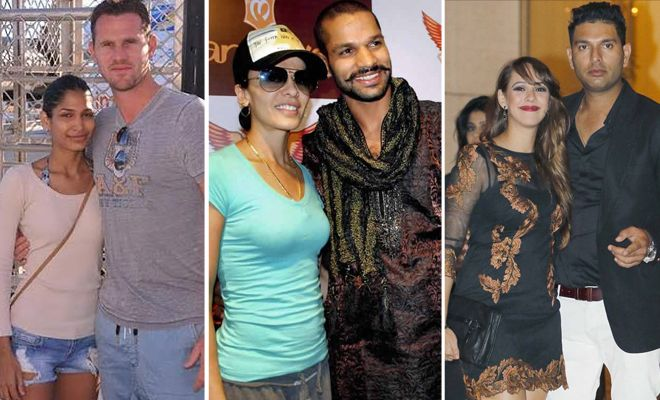 """TOP 10 """"HOT N SEXY"""" WAGS OF #CRICKETERS"""