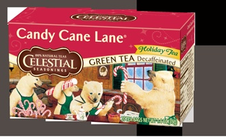 Candy Cane Lane: Canes Lane, Seasons Candy, Frostyvoxbox, Comic Books, Green Teas, Candy Canes, Teas Bags, Holidays Teas, Celestial Seasons