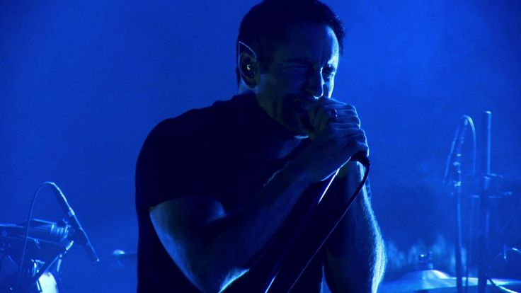 Nine Inch Nails - Tension2013, Pt. 2 (VEVO Tour Exposed). Production/lighting design by LeRoy Bennett, lighting progamming by Jason Baeri, video programming by Loren Barton, lighting direction by Brian Jenkins, and video direction by Morgan Brown. http://livedesignonline.com/projects/nine-inch-nails-tension-tour