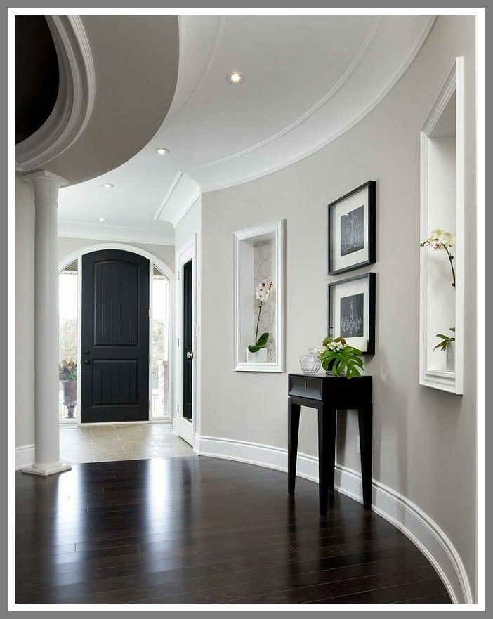 96 Reference Of Light Grey Home Interior House Color Schemes Interior Paint Colors For Living Room Hallway Paint Colors