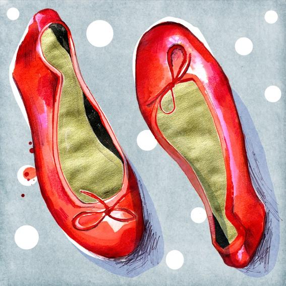 Red Shoes   Lisa Buckridge