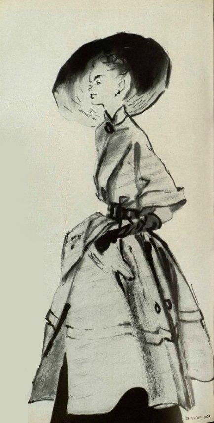 1948 - Christian Dior coat