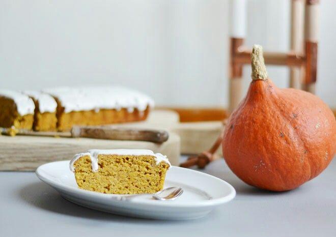 Græskarcitronkage / pumpkin and citrus cake  www.purefoodpassion.com