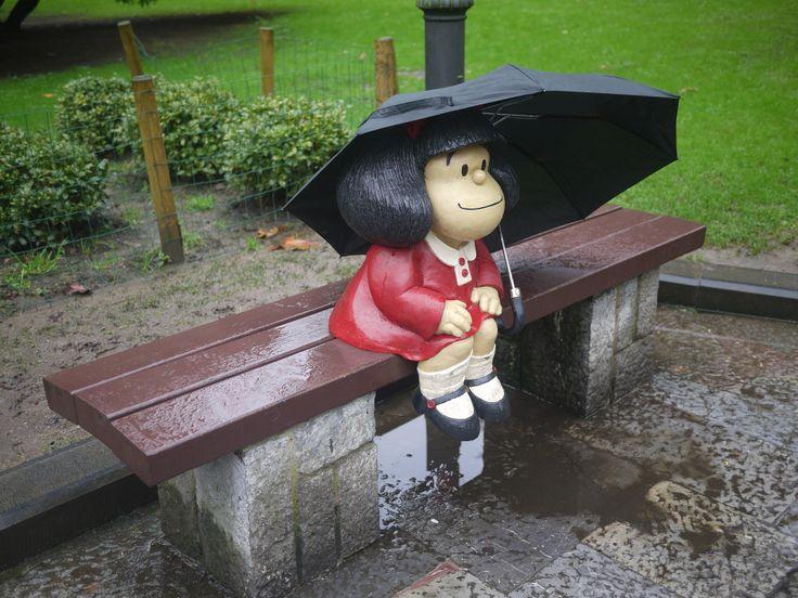 Poder descansar un rato en Oviedo junto a Mafalda en el Parque San Francisco no te hace especial ilusión 19 razones por las que nunca deberías visitar Asturias - Matador Español