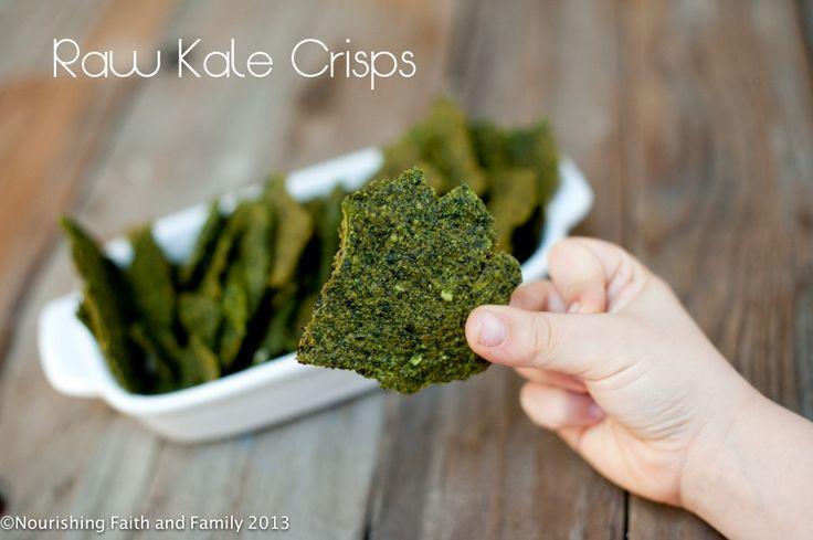 Raw Kale Crisps