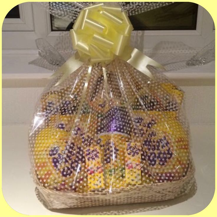 The 25 best easter hampers ideas on pinterest birthday hampers mini egg easter hamper basket negle Image collections