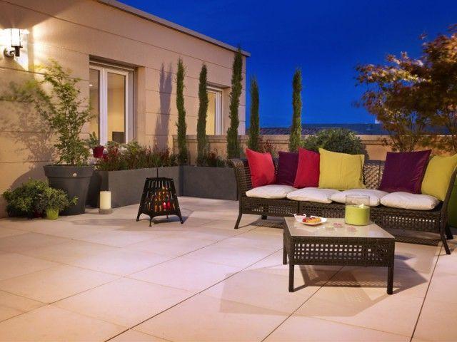 11 best Terrasse images on Pinterest Terrace, Wooden decks and - terrasse bois sur plots reglables