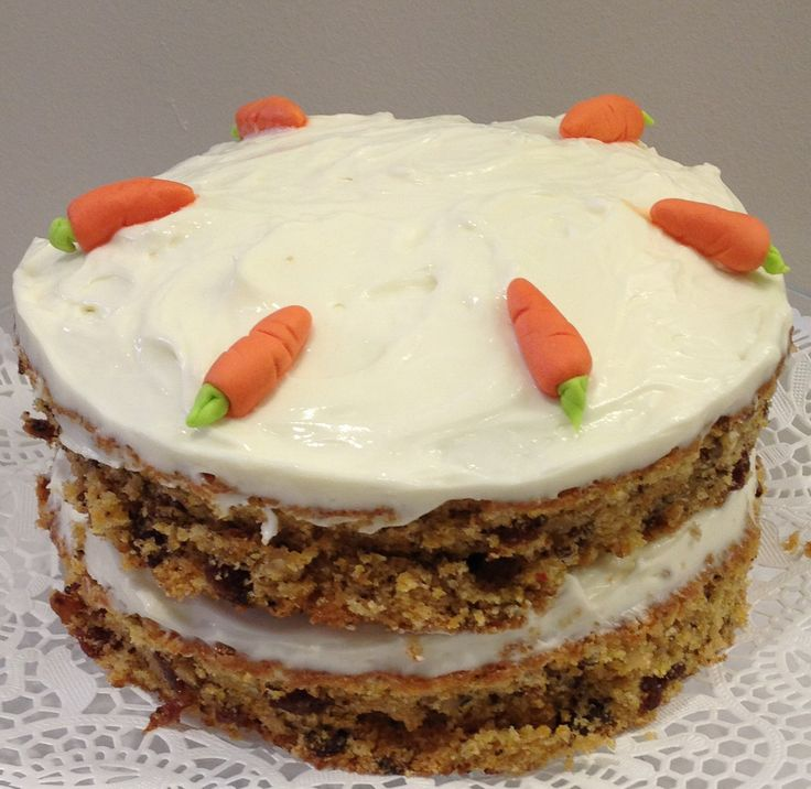 The famous Sugar Angel carrot cake!