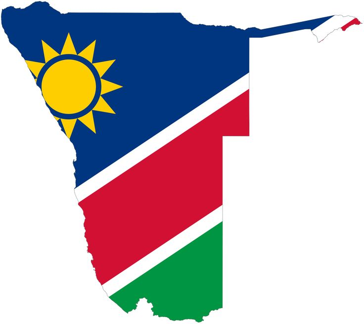 namibia flag map | Home / Country flags / Cut out Flag Namibia 80mm high