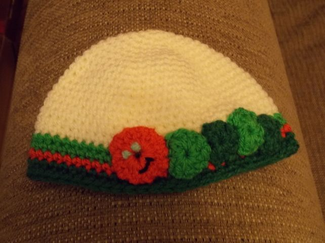 Baby Hat - Very Hungry Caterpillar £6.00