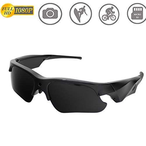 aa48a766778d Sunglasses Camera,AMCSXH HD 1080P Spy Mini Camera,Video Camera,for Outdoors  Camera with UV Protection Polarized