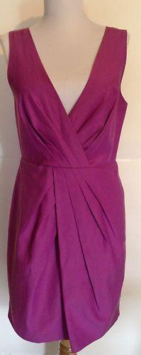 $18.50 - Banana Republic Petite 8 Purple Cocktail Dress Great Color | eBay