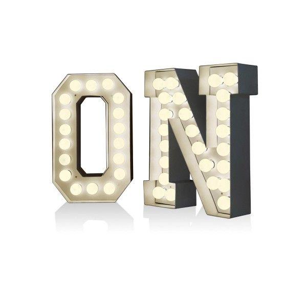 Vegaz Lettere Luminose LED Seletti | Mohd Shop