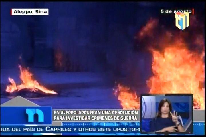 Resumen de Noticias internacionales de CNN para Telenoticias 11