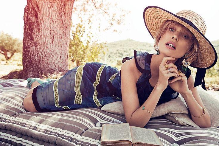 Inguna Butane models summer fashions for Richard Ramos photoshoot