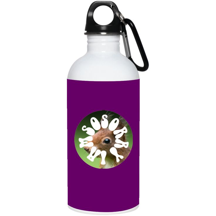 I Am So Sorry Squirrel Scorpio 20 oz. Stainless Steel Water Bottle
