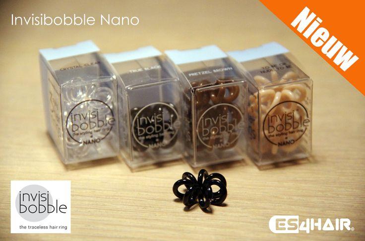 De Invisibobble NANO is speciaal gemaakt voor gebruik aan het einde van een haarvlecht. Maar ook voor mensen met dun of weinig haar is het met de Nano mogelijk om een leuke staart te maken.
