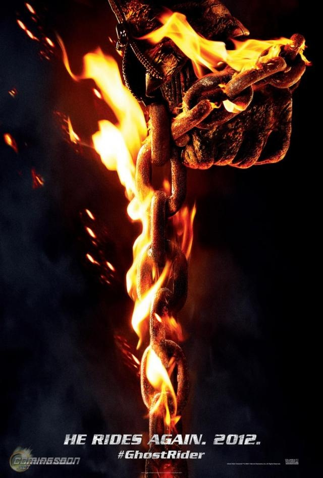 Ghost Rider 2: Spirit Of Vengence – New Trailer and Poster