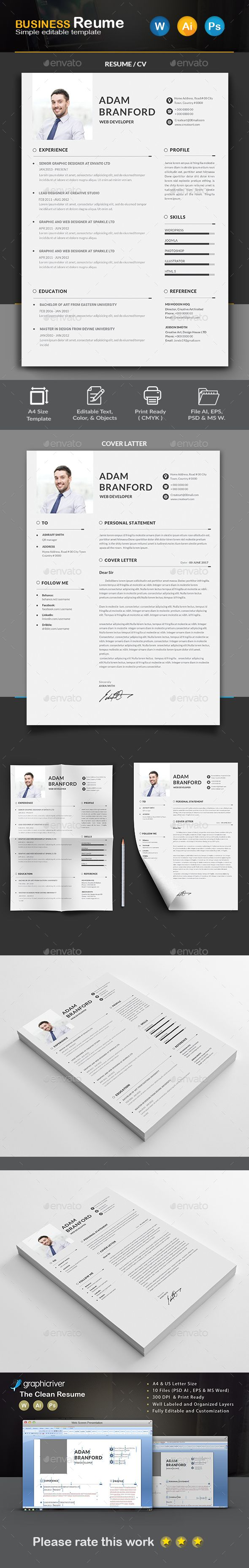 Resume by Createart PRODUCT FEATURESA4 Paper Size