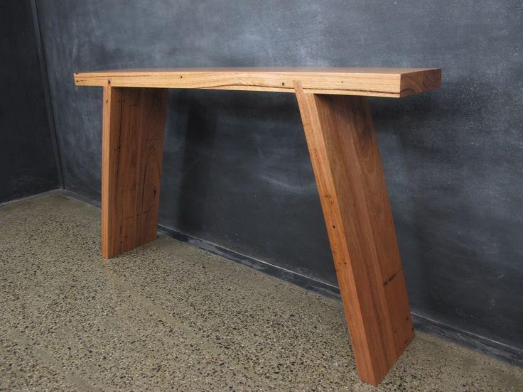 Splayed Messmate Hall Table.