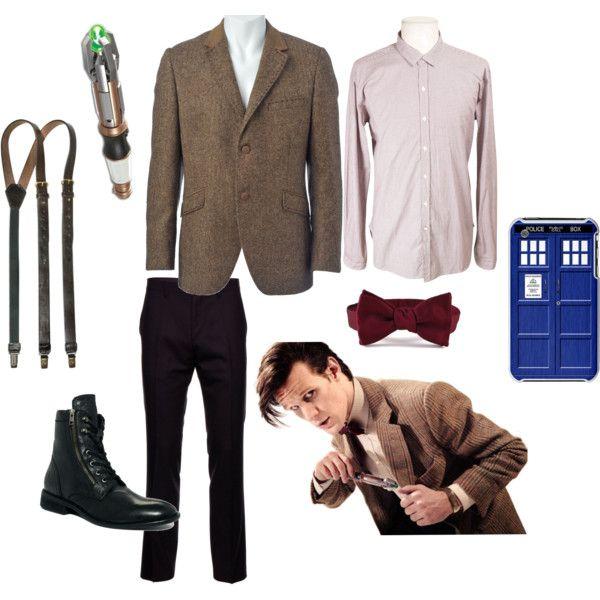 """Eleventh Doctor Costume"" by pricklythornsweetlyworn on Polyvore"