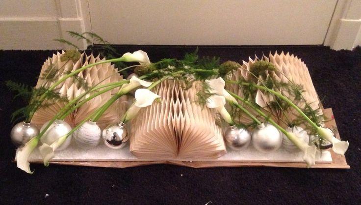 Tafelstuk modern kerst