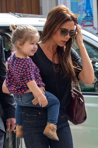 H7 has great style and she's touching Victoria Beckham.