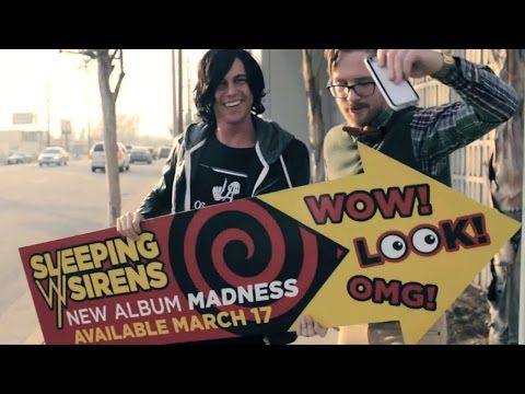 "Sleeping With Sirens - ""Go Go Go"" - YouTube. LOVE THIS SONG SO MUCH!! When I first heard it I almost cried from happiness"