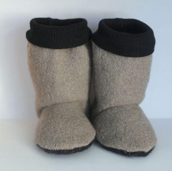 Stiefel & Booties - BABY BOOTIES - ein Designerstück von margaretehayes bei DaWanda