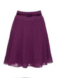 The Marta Spot Skirt | Shop Skirts Online from Review Australia