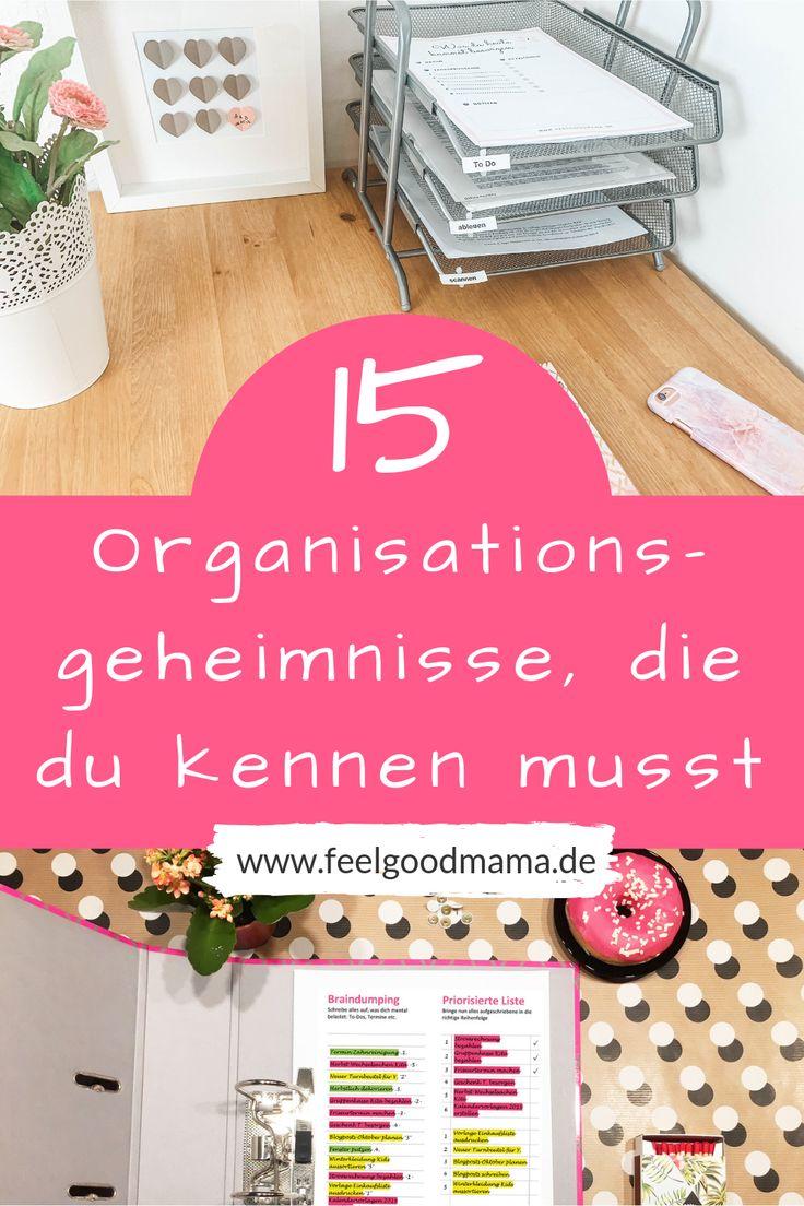 Gut organisiert als Mutter: Mit diesen 15 Tipps gelingt es dir