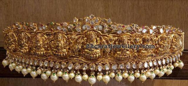 Lakshmi Waistbelt with South Sea Pearls