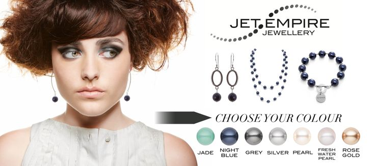 Our Swarovski pearl collection is so popular for Mothers Day!  www.jetempire.com.au