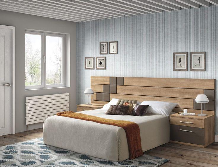 Dormitorio moderno (168 – D2) - Muebles CASANOVA