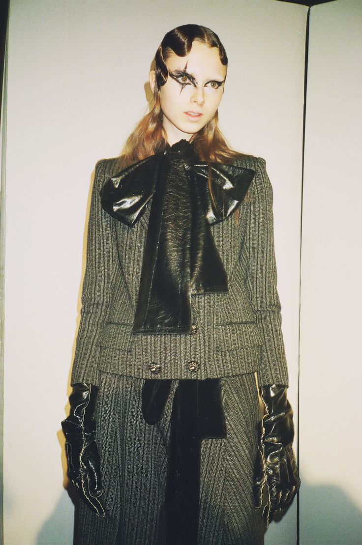 Behind-the-Scenes at the Marc Jacobs Fall '16 show with Elina Nikitina