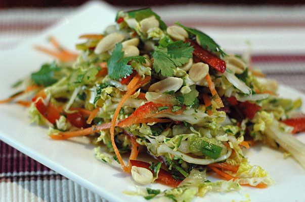 Asian Salad from Orgasmic Chef - great version of a classic concoction we love!