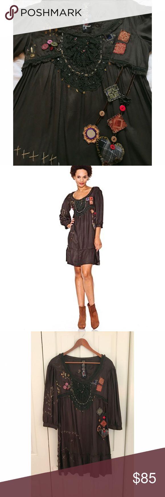 Spotted while shopping on Poshmark: ✖️Desigual Dress✖️! #poshmark #fashion #shopping #style #Desigual #Dresses & Skirts